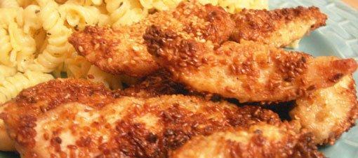 Susamlı Tavuk Göğsü Tarifi