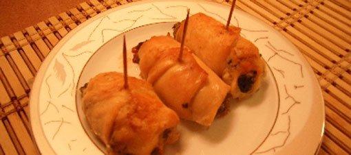 Ispanaklı Tavuk Sarması Tarifi