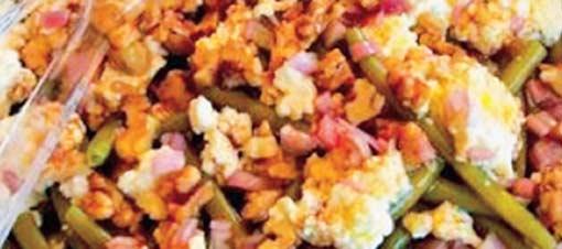 Keçi Peynirli Börülce Salatası Tarifi