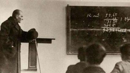 Atatürk'ün Öğretmenler Günü ile ilgili Sözleri