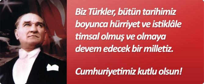 29 Ekim şarkıları cumhuriyet bayramı şarkıları
