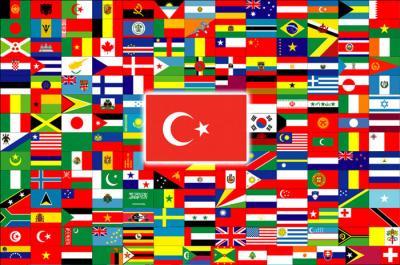 Dünya haritası ülkeler ve başkentleri