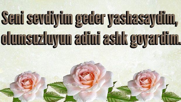 Azeri Sevgi Sozleri Kisa Azerice Sevgi Mesajlari