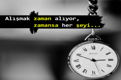 zaman ile ilgili sözler